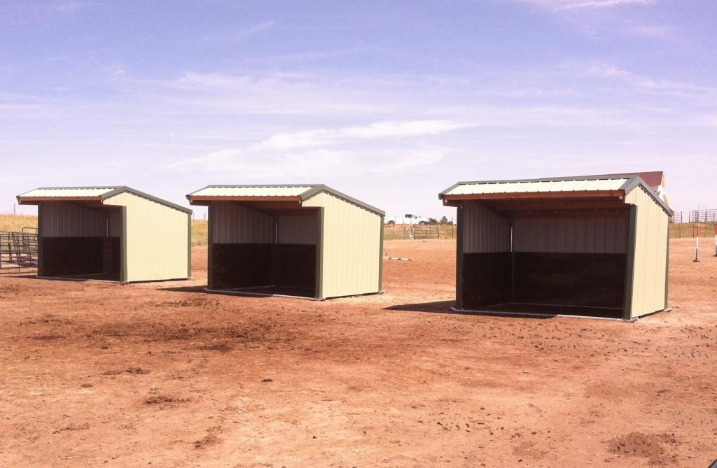 Klene Pipe Structure's Wrangler Run-In Shelters
