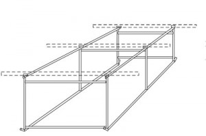 Portable Live Stock Shade by Klene Pipe Structures