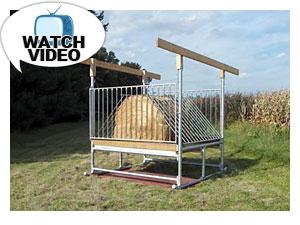 H-8 Hay Saver Feeder Video
