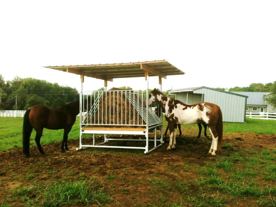 Hay Saver Horse Feeders Klene Pipe Structures