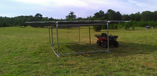 Portable Shades for Livestock, Plants and Pets
