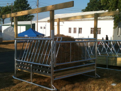 hay feeder for cattle