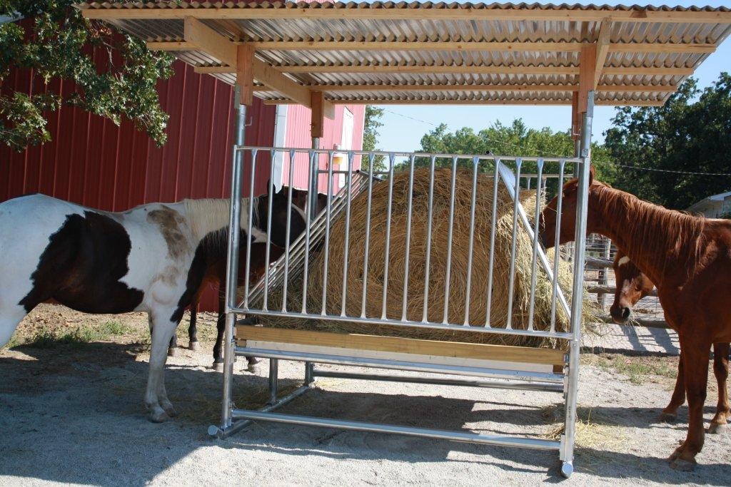the feeders automatic with horse feeding open equine hay covered picture door rack showing good another end feeder model