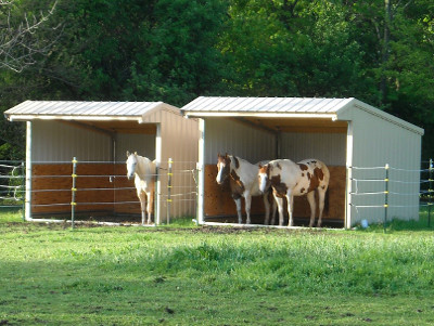 Run In Horse Shelter Kits Klene Pipe Structures