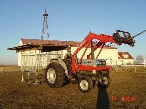 Klene Pipe's Hay Saver Hay Feeder