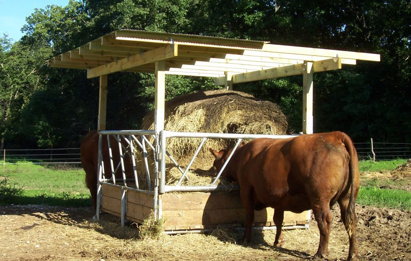 VL-2882 Cattle Hay Feeder
