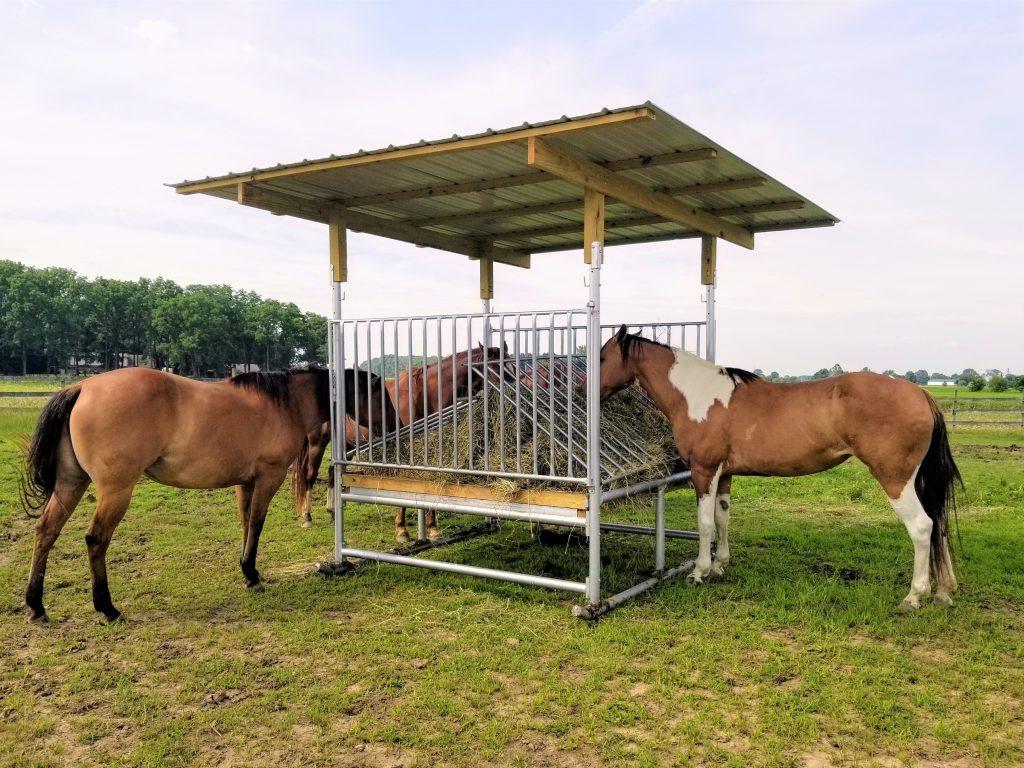 H-8 Horse Hay Feeder