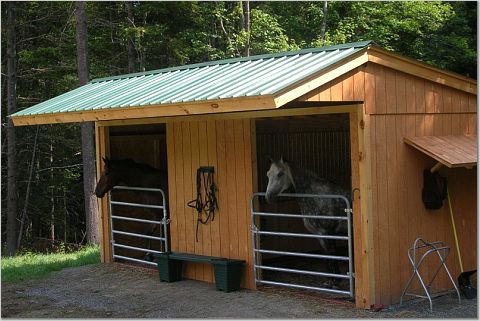diy horse barn kit diy unixcode For2 Stall Horse Barn Kits