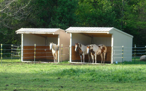 Hay Feeders Horse Shelters Amp Shade Structures Klene Pipe
