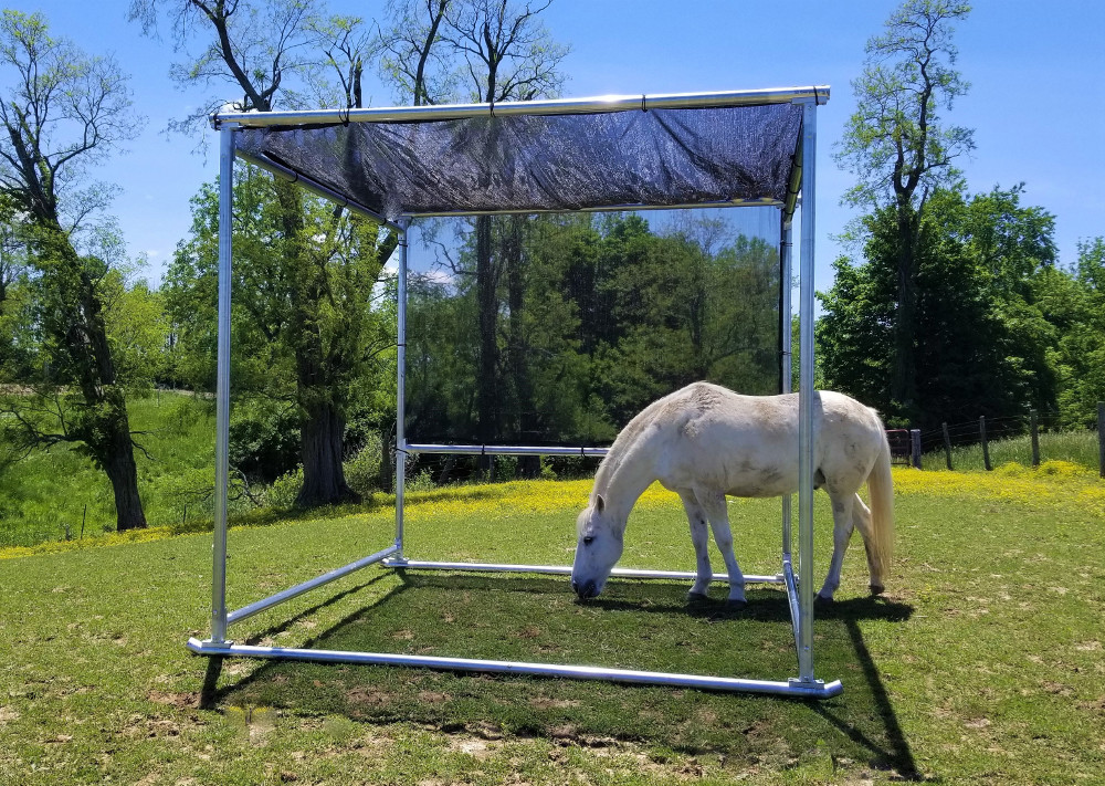Portable Shade for Horses